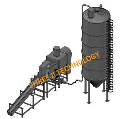 Automatic Cement Bag Cutting System